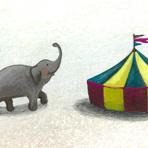 2010個展 「脱走する5匹の象-1」