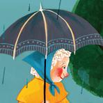「雨の日のおさんぽ」 国語教材